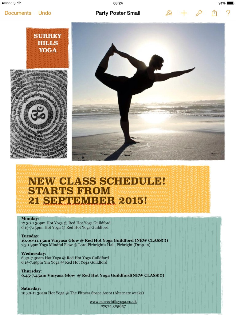 image 768x1024 NEW CLASS SCHEDULE: Starts 21 September 2015